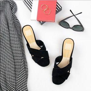 Dolce Vita Ferne Block Heel Sandal Black